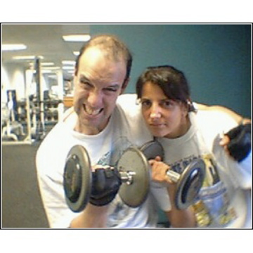 Chicago Personal training couples, partner training